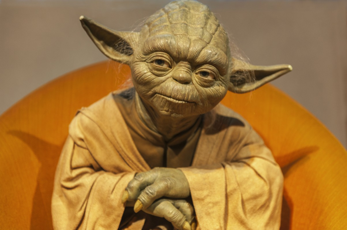 Yoda, an all-time great for positive mental health advice!