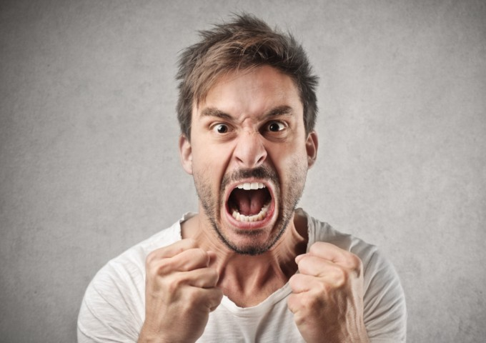 Angry man - understand anger and anger management strategies