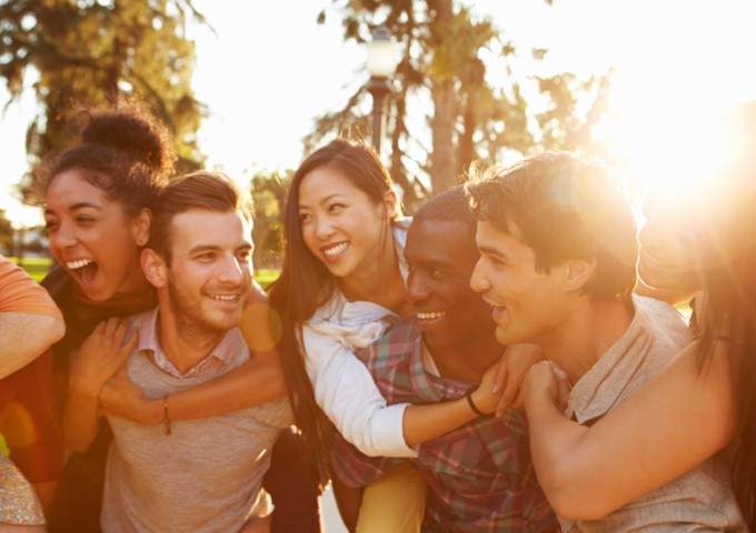 group of friends - social connections are key to good mental health