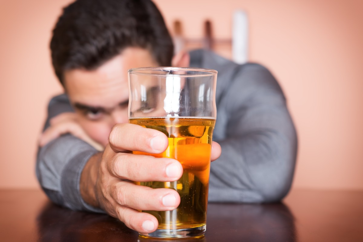 Sizing up a beer. The effects of alcohol can be damaging to our physical and emotional health, especially if we experience depression or anxiety.